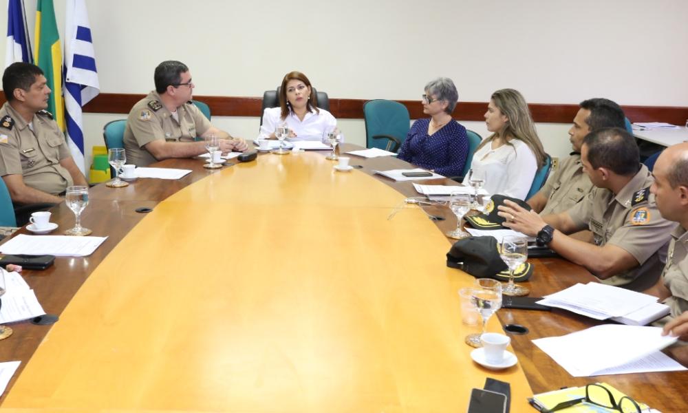 O anúncio aos dirigentes das unidades escolares militares ocorreu na tarde desta terça-feira em reunião entre a Seduc e a Polícia Militar - Crédito: Márcio Vieira/Governo do Tocantins