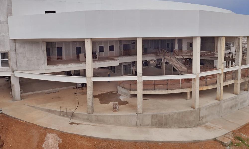 Secretário de Estado da Saúde, Edgar Tollini, diz que o Hospital de Gurupi é uma forma de fortalecer a saúde da região sul – Crédito: Nielcem Fernandes/Governo do Tocantins.